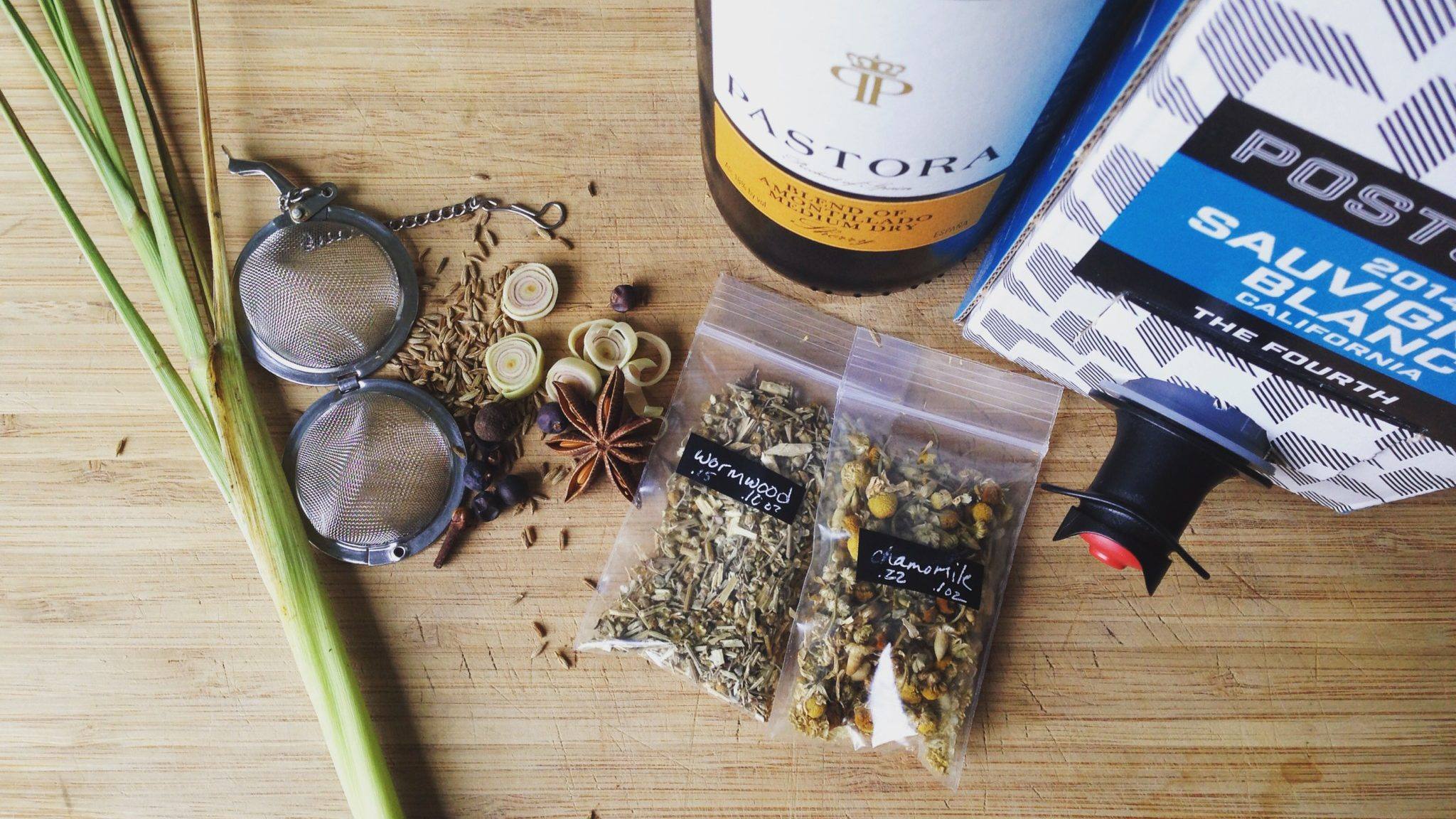 Vermouth ingredients